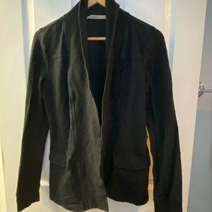 Athleta blazer style jacket/ sweater /shrug sz S
